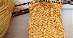 Kleine Zöpfchen Größe 38/39 Muster durch 6 teilbar 6fach-Wolle, Nadel 3,5, 48…