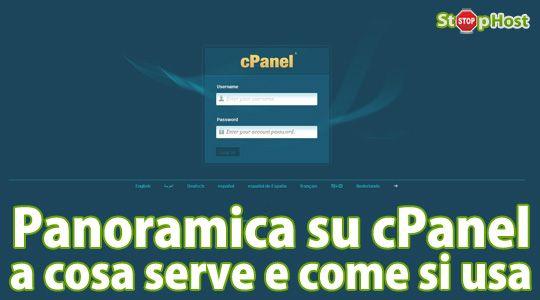 Panoramica su cPanel: a cosa serve e come si usa Quando si gestisce un sito non si tratta solo di accedere all'interfaccia di amministrazione per scrivere articoli, postare nuove pagine, moderare eventuali commenti o effettuare aggiornamenti del CMS: la sua gestione completa richiede strumenti di livello più alto, e senza dubbio cPanel è uno dei migliori disponibili sul mercato. http://www.stophost.it/blog/panoramica-cpanel-serve-come-si-usa-116.html #webhosting #cpanel