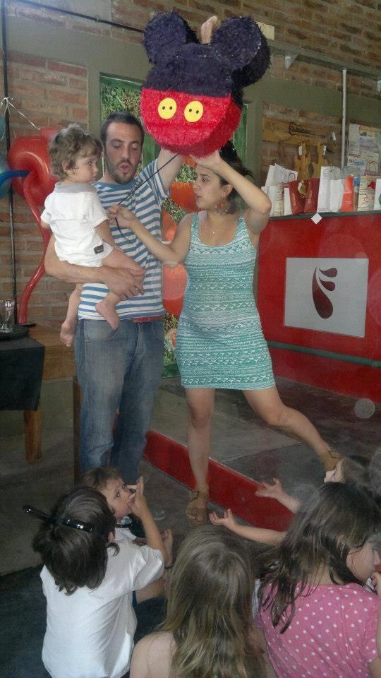 Mickey Piñata Hand Made
