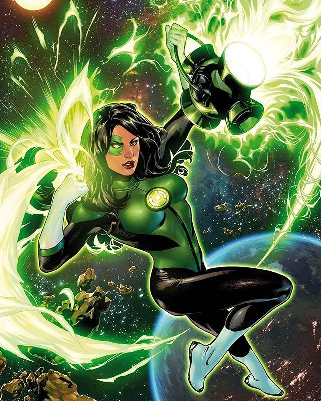 Green Lantern Jessica Cruz by Emanuela Lupacchino  #JessicaCruz