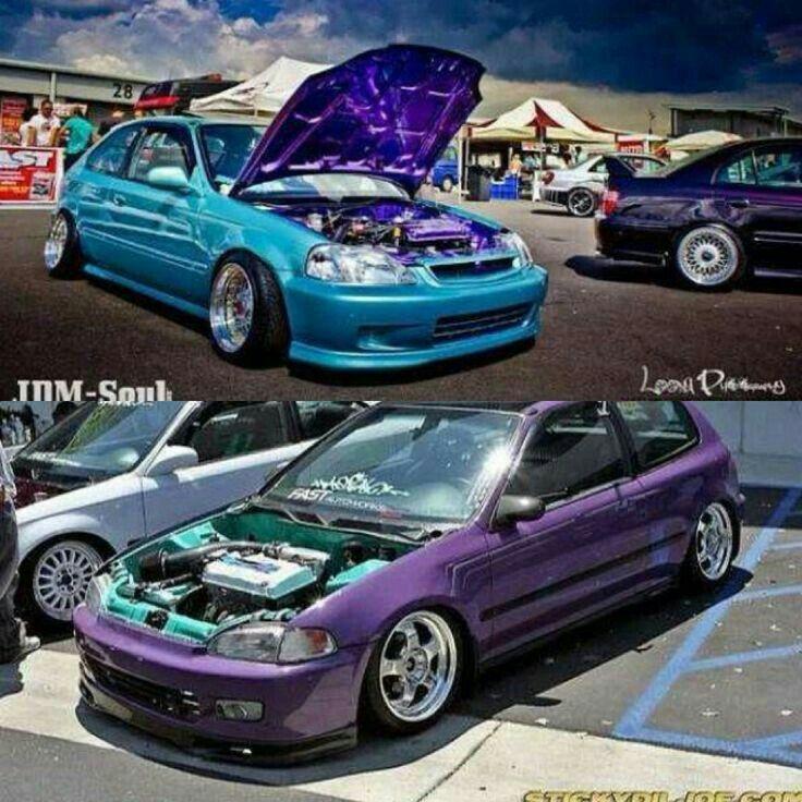 Honda Hatchbacks Egs  The Colors Though