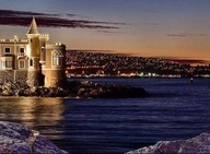 Castillo Wolf Viña del Mar, Chile.     ¡Me encanta!