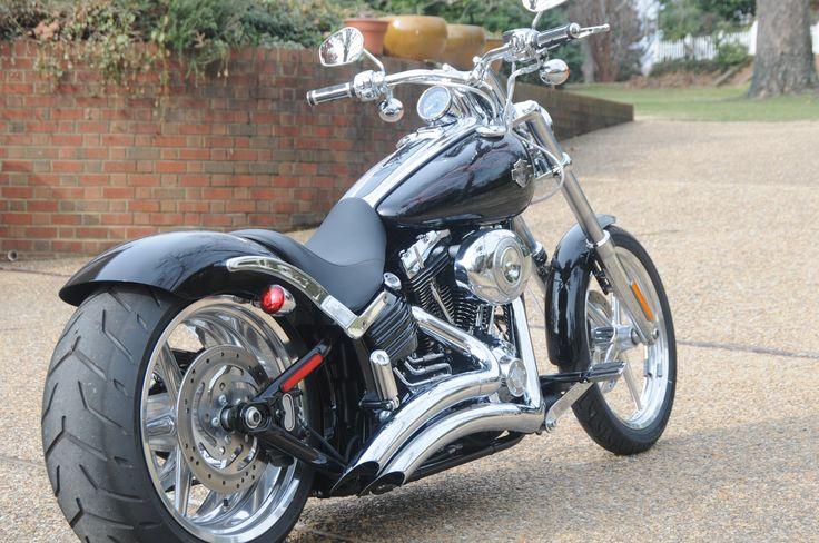 Harley Davidson Rocker C........slightly modified
