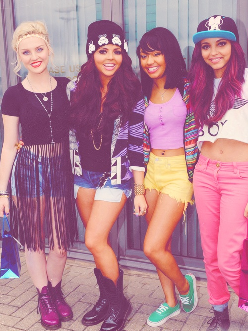 Little Mix.. Love their style!