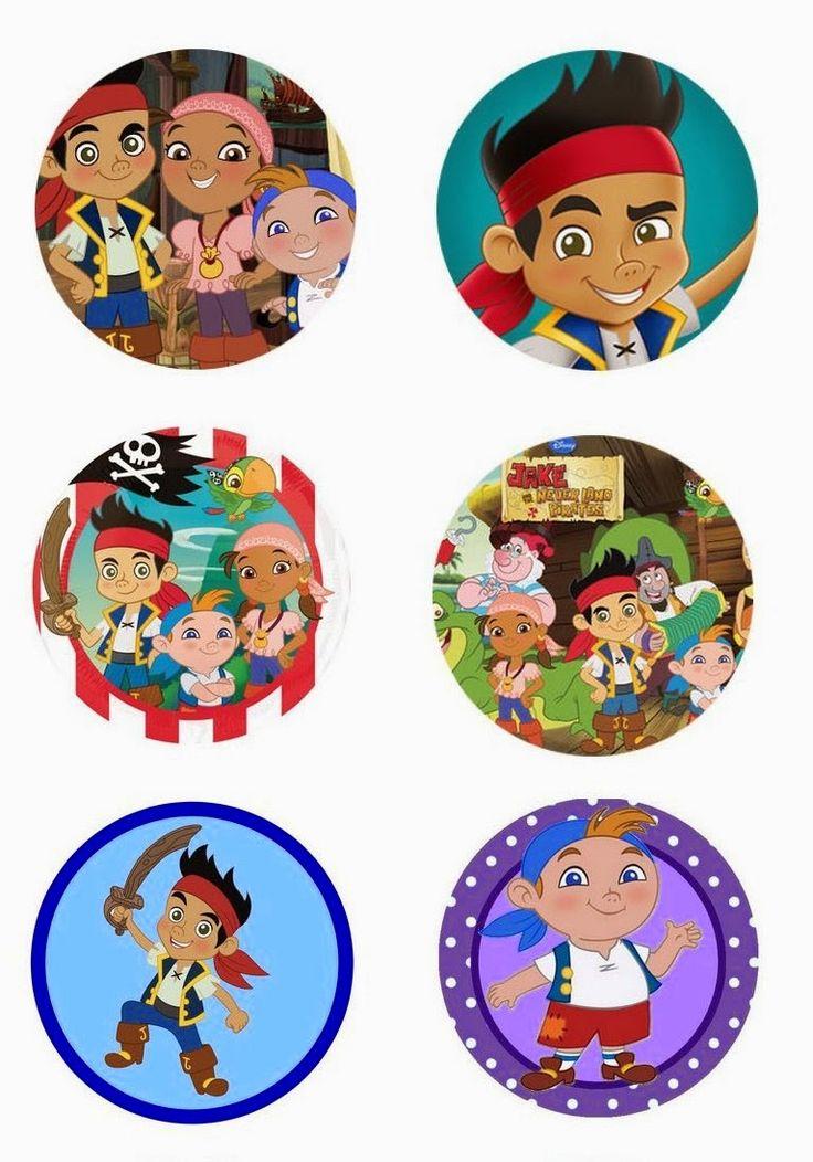 Folie du Jour Bottle Cap Images: Free digital bottle cap images Jack and the Neverland Pirates