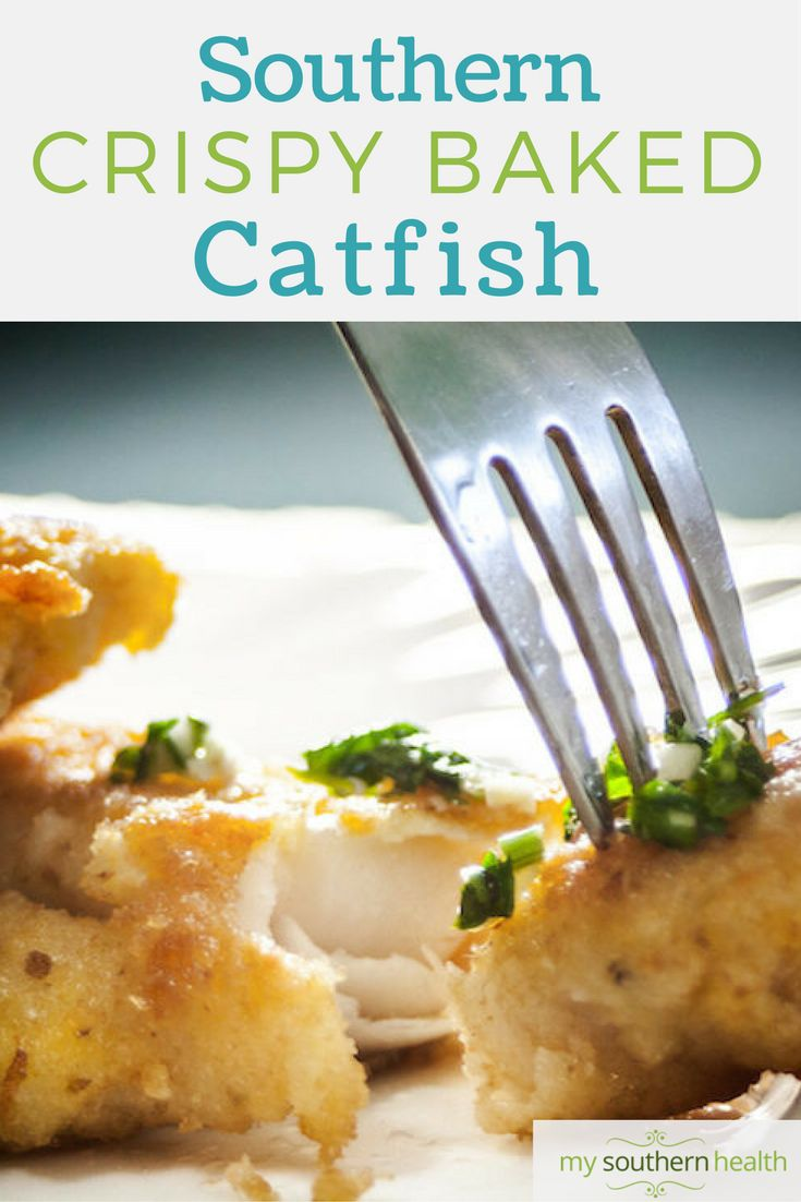 Keep the crunch and spice with this healthy baked catfish recipe. Your heart will thank you, and so will your family. Read more at My Southern Health.