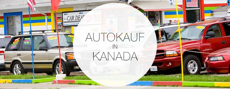 Autokauf Kanada