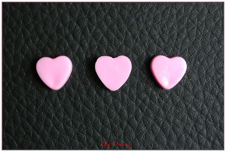 Petit bonbon en chocolat rose miniature pour créations gourmandes fimo kawaii x1 : Pâtes polymères et accessoires par lilycherry