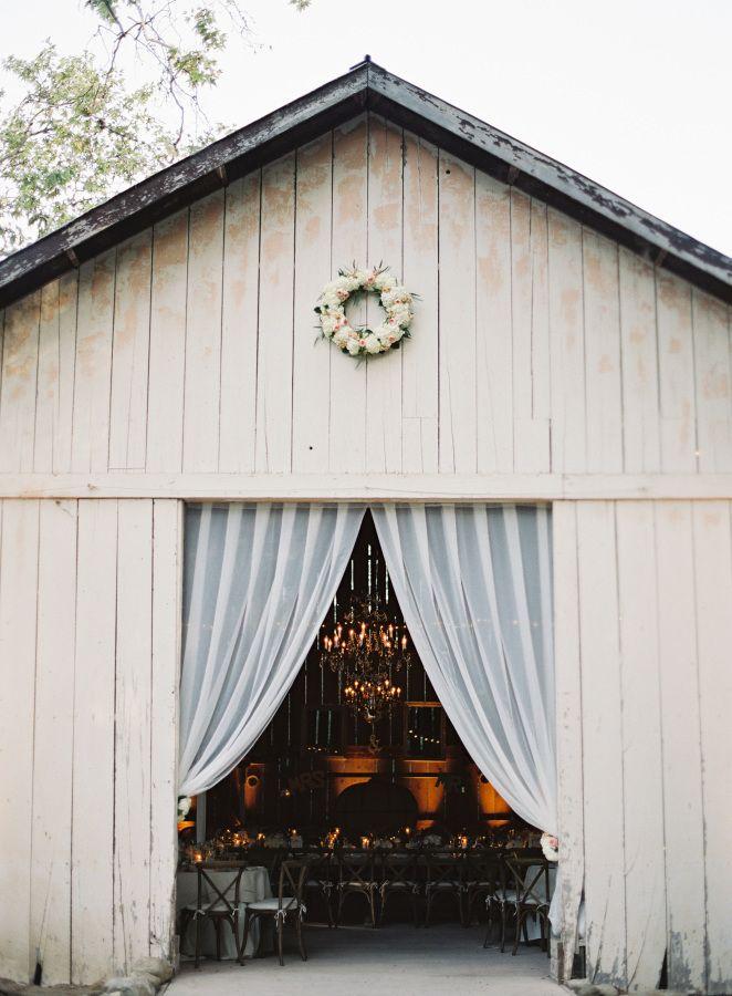 Gorgeous barn wedding venue: http://www.stylemepretty.com/2015/01/09/pastel-spring-wedding-at-dos-pueblos-ranch/   Photography: Patrick Moyer - http://patmoyerweddings.com/