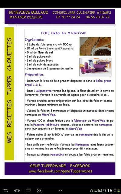 Foie gras au micro vap