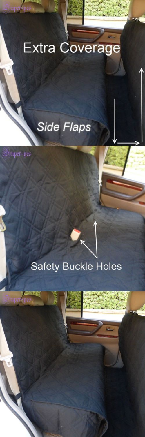Car Seat Covers 117426: Large Car Suv Seat Cover Deluxe Quilted Padded Pet Dog Extra Coverage Protector -> BUY IT NOW ONLY: $38.5 on eBay!