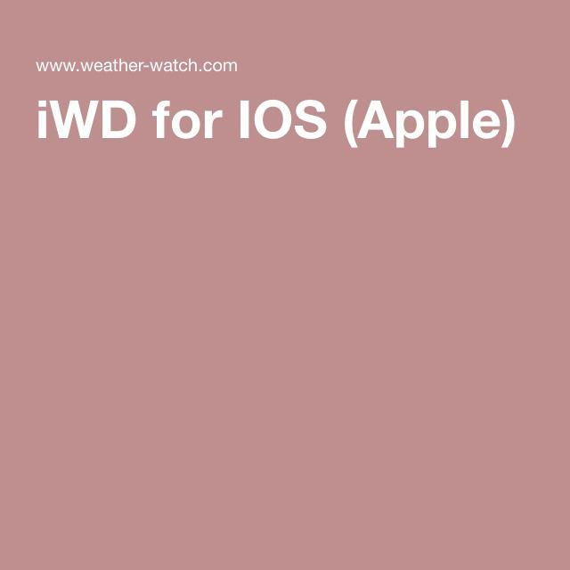 iWD for IOS (Apple)