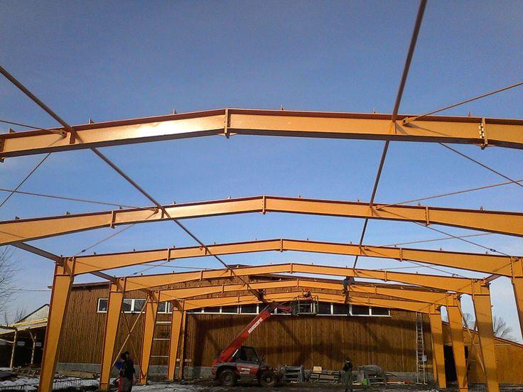 Structura Prejmer - Structuri metalice | Duna-steel.ro