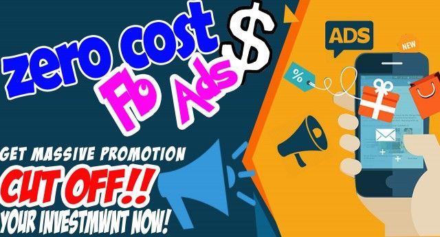 Zero cost fb ads secret method 2018 working how to promote