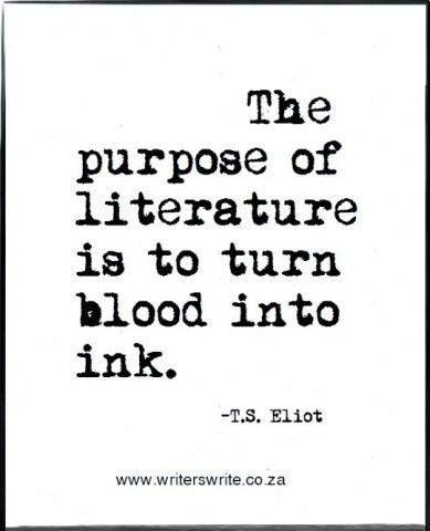 write english literary essay