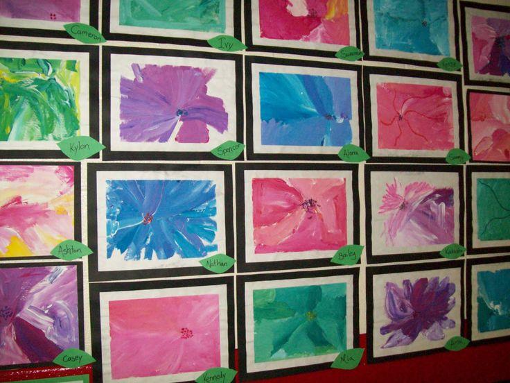 kindergarten art lessons | Art With Mr. E: Kindergarten Art Show Work