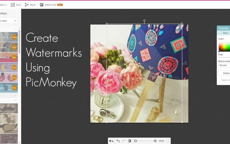 How To Create A Watermark Using Picmonkey by KBS Styling www.kbsstyling.com.au/blog