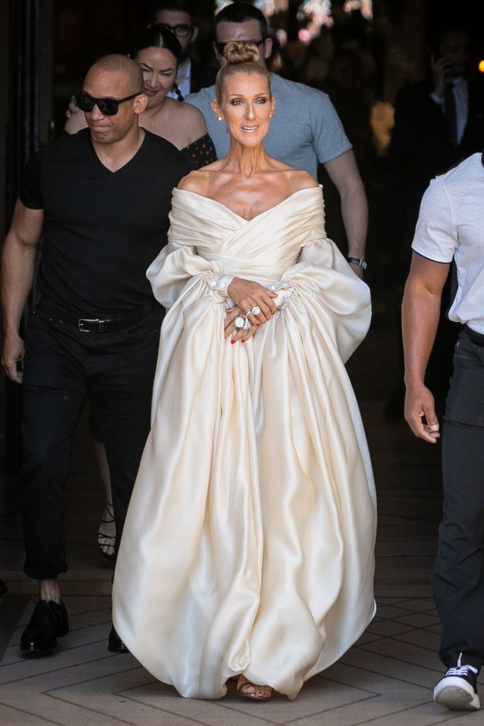Celine Dion Has Been Completely Killing Paris Haute Couture Style Week