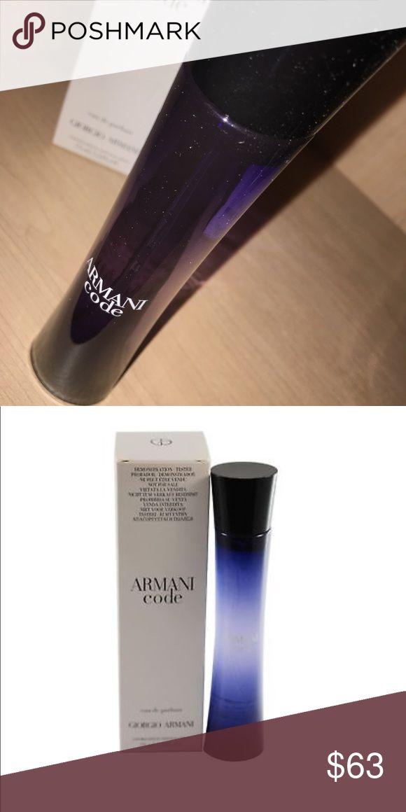Code By Giorgio Armani Women Eau De Parfum Spray Code By Giorgio Armani Women 2.5 oz 75 ml Eau De Parfum Spray New Giorgio Armani Other