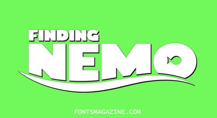 Finding Nemo Font Family Free Download Finding Nemo Nemo Logo Fonts