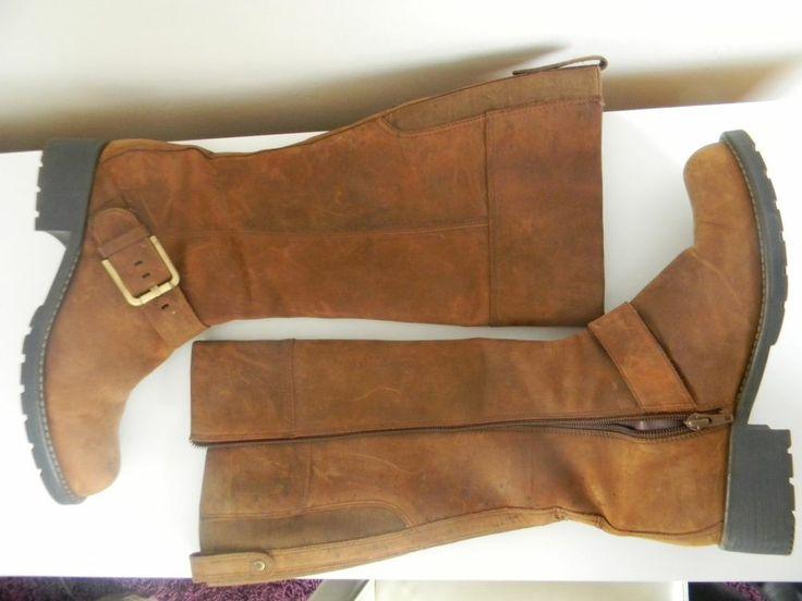 Clarks Orinoco Jazz Brown Snuff Ladies Leather Boots