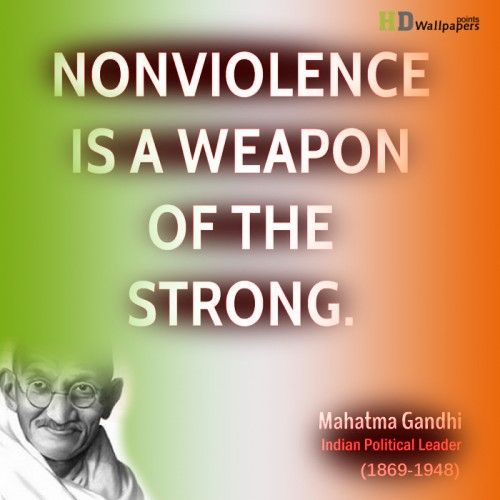 gandhis journey to nonviolence essay The name mahatma is seen throughout the modern days for the remembrance of former leader, mohandas gandhi gandhi's call for world peace has caused him to be forever.