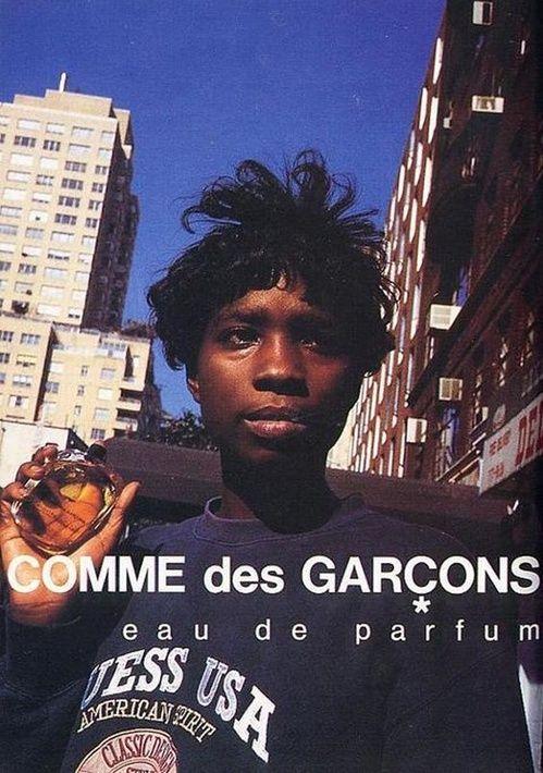 Campagne Comme des Garçons Parfums réalisé par le photographe Keizo Kitajima
