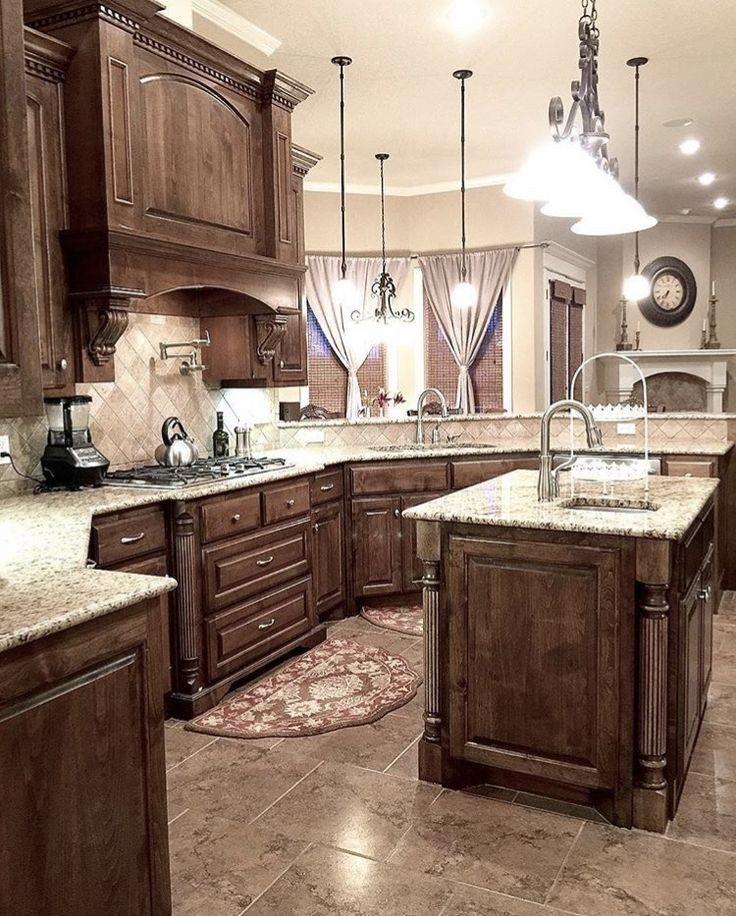 Kitchen Remodel Dark Cabinets Kitchen Remodel In 2020 Kitchen Design Ideas Dark Cabinets Backsplash With Dark Cabinets Rustic Kitchen
