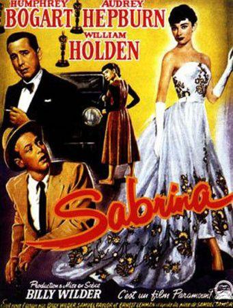 Sabrina Humphrey Bogart Vintage Movie Poster