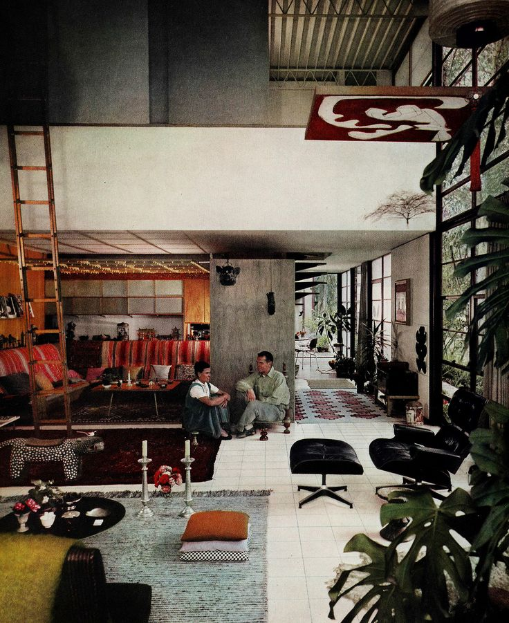 Inspired by charles and ray eames eames house pacific for House industries eames