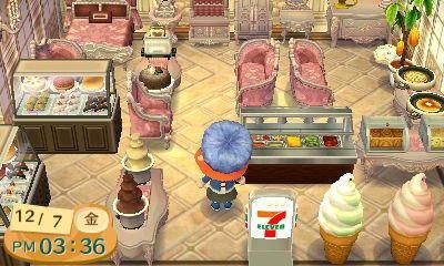 Animal Crossing New Leaf Coffee Shop
