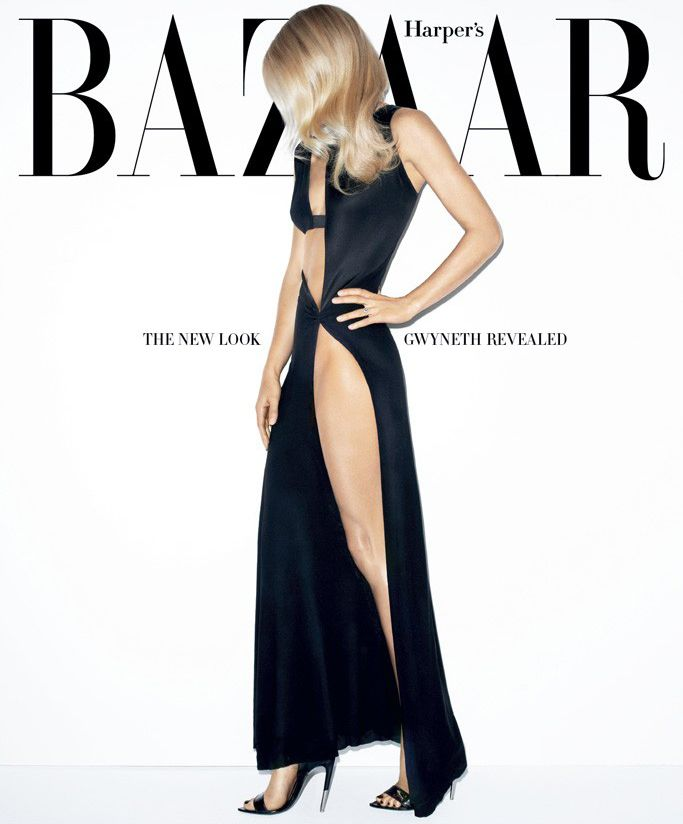 Harper's Bazaar March 2012. Gwyneth Paltrow by Terry Richardson.