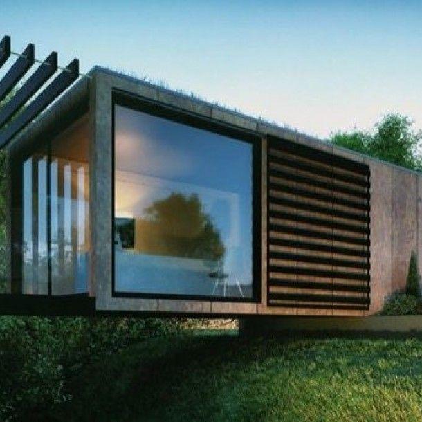 Contenedor Oficina Diseñado Por Patrick Bradley