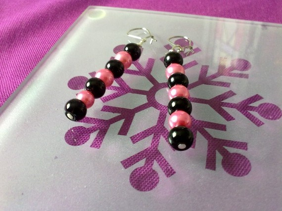 JUST ONE DOLLAR/ pink and black by katerinaki106 on Etsy, $1.00