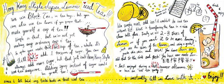Hong Kong Style Super Lemon Iced Tea<span class='title_artist'> by Audrey Ang</span>
