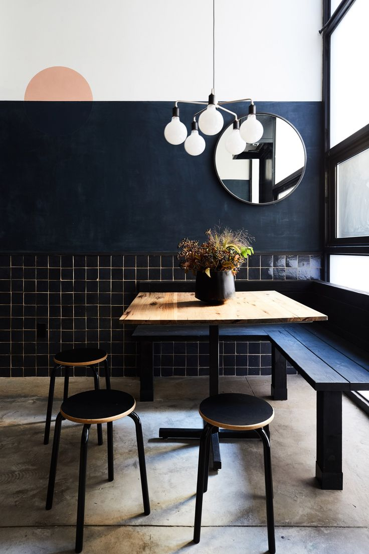 """Tokyo meets New York"" in dark-coloured ramen restaurant by Carpenter & Mason"