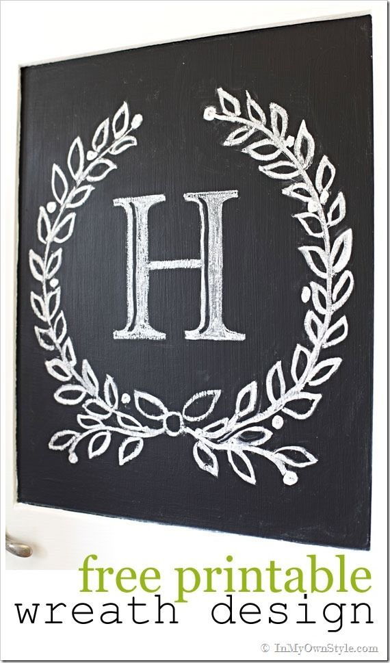 322 best images about stencils on pinterest plaster paint and damask stencil for Chalkboard stencils printable