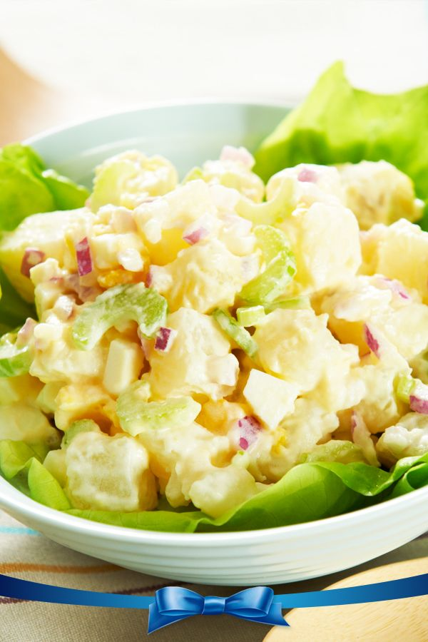 The Original Potato Salad made with Real Hellmann's Mayonnaise, just like mom always made!
