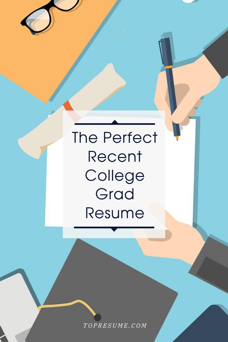 recent college graduate resume tips