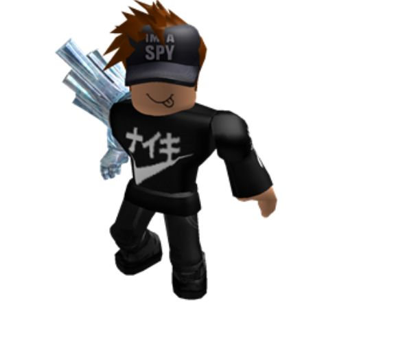 My roblox character Add me...wateryminecraftboy22 (With