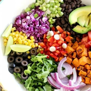 Potato Tex Mex Salad | -=♥BeauFood♥=- | Pinterest | Tex Mex, Salad ...