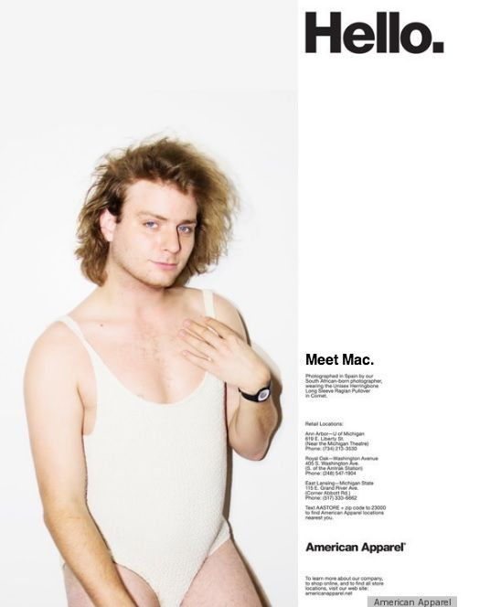 american apparel meet the models template for fashion