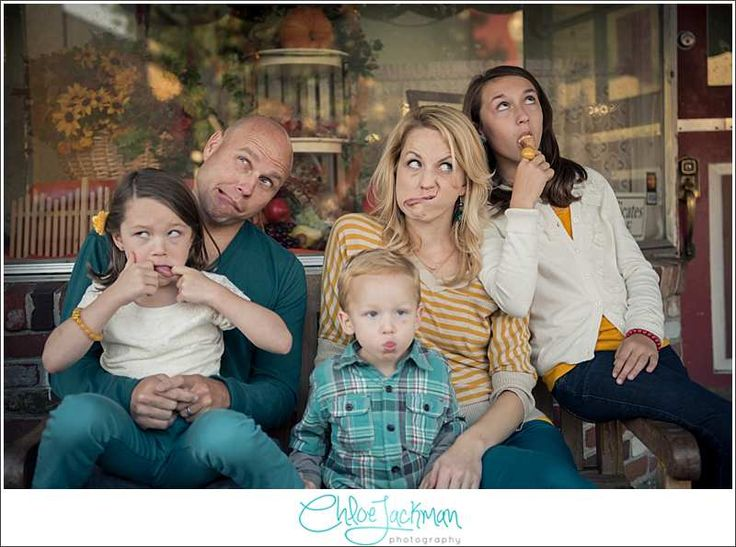 Funny Family Photo...  The Smiths, Ice Cream, Boas & Fun | Family Portrait Burlingame