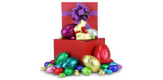 What could make for a better Easter gift idea for the chocoholic in your life? This Box of Choc is a beautifully presented Easter gift basket that they'll love!  As with all of our gift baskets, delivery is included in the price - send it anywhere in Australia and don't worry about hidden fees or costs!