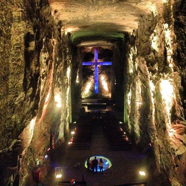 Salt Cathedral in Zipaquirá, Cundinamarca