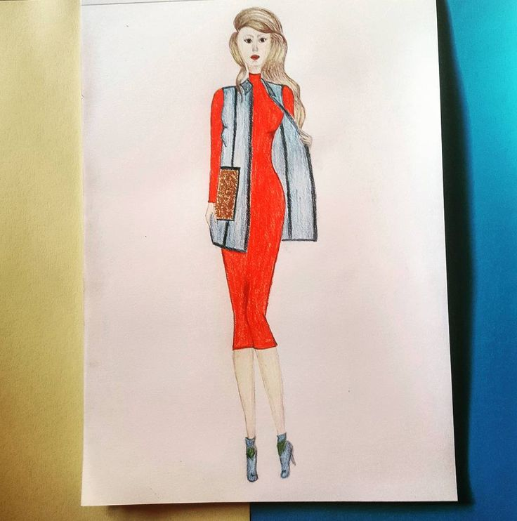 "49 aprecieri, 5 comentarii - C.A. (@c.a.ilustratii) pe Instagram: ""#fashion #fashionista #f4f #followforfollow #follow #fabercastell  #prismacolor #fashionart…"""