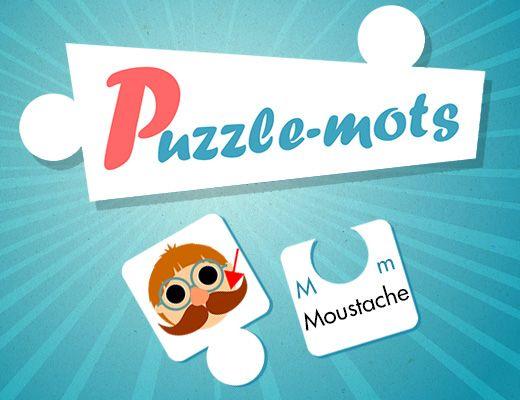 Puzzle-Mots : jeu pour enfant de maternelle et primaire