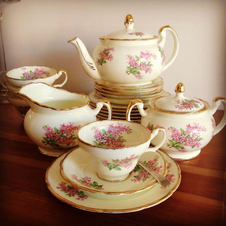 Juego de té: Foley, England  - Té, Chocolate y Café - Scoseria 2581 - Montevideo