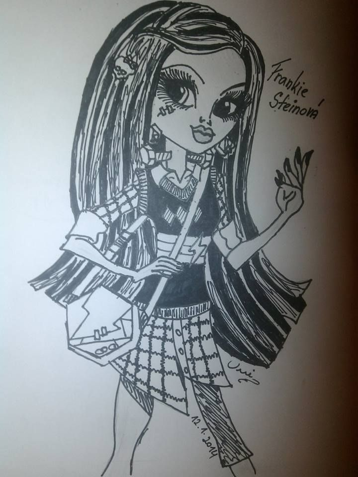 Monster high - Frankie - by Unico d4rkness