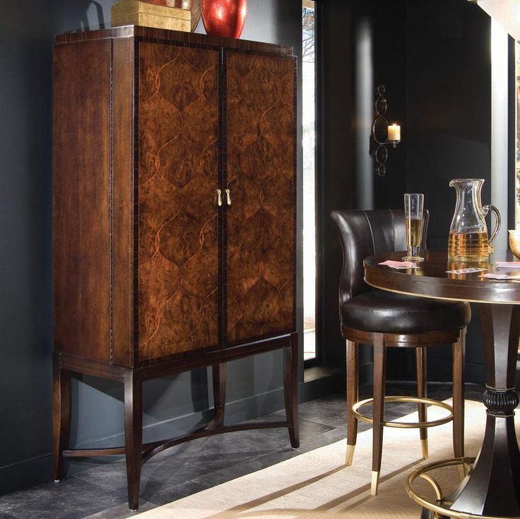 Bob Mackie Home Signature Bar Cabinet Bar Sets And Bar Stands Our Dining Room Pinterest